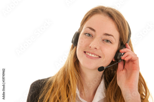 Customer support on the phone