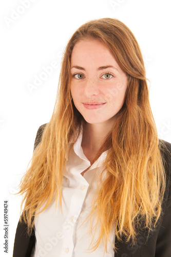 canvas print picture Portrait blond girl