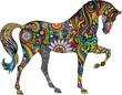Cheerful horse - 59750631