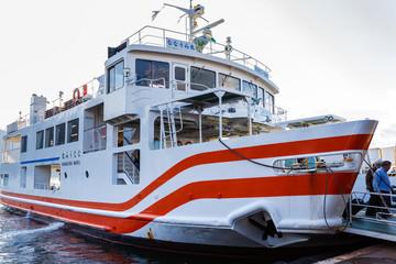 Ferry to Miyajima Island in Hiroshima