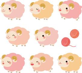 かわいい羊