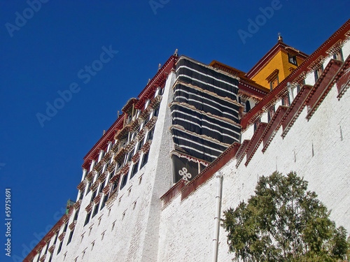 Lhasa, Tibet: the Potala palace.