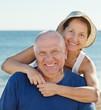 Portrait of smiling mature couple