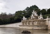 Neptune fountain in Schonbrunn, Vienna