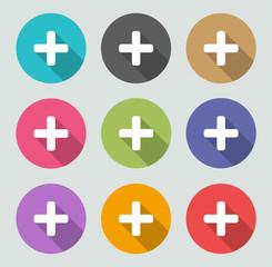 Add icon - Flat designs