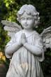 Engel auf einem Grab