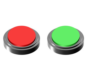 red green button