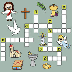 crossword religion