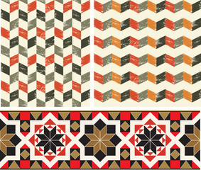 Geometric pattern, seamless
