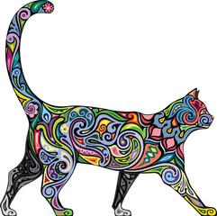 Cheerful cat