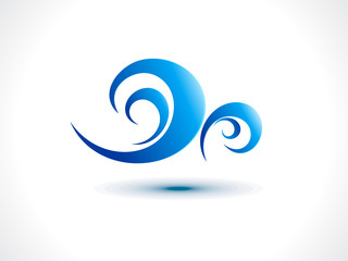 abstract wind icon
