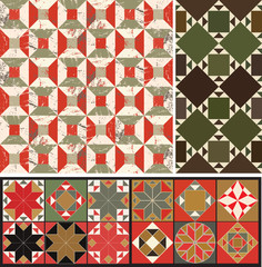 A set of geometric designs