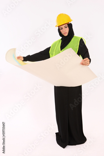 Arab Woman Engineer