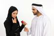 Arab Man Declares His Emotions With A Rose