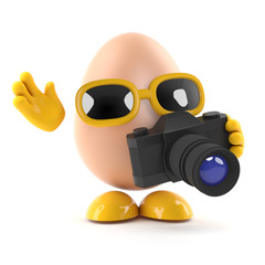 Egg takes a picture