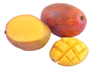 Mango on a white background