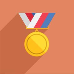 medal flat
