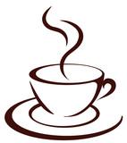 Fototapety Die Kaffeetasse
