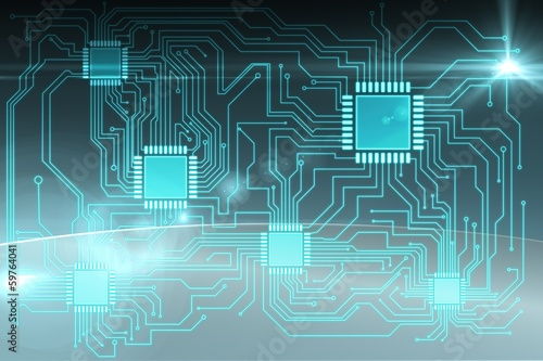 Circuit board graphic
