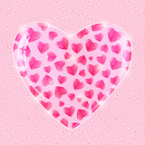 Valentines Day Shiny Pink  Background