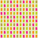 Seamless Pattern with Colorful Paint Stroke