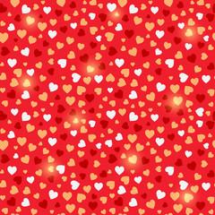 Seamless Valentine Red Background