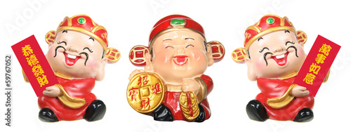 God of Prosperity Figurines