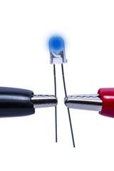 Leuchtdiode LED blau