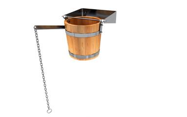 Doccia svedese, secchio d'acqua fredda, spa
