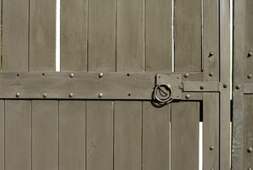 medieval door detail