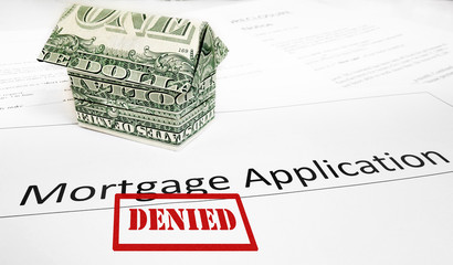Denied mortgage app