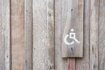 Handicap Toilet Sign