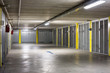 underground parking garage