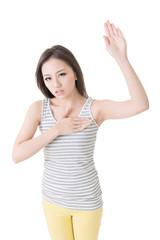 gesture of swear
