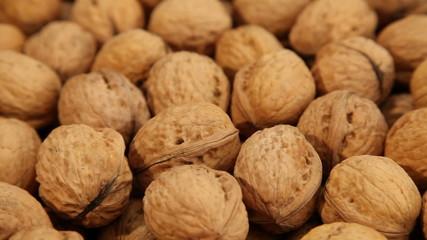 Walnuts, close up
