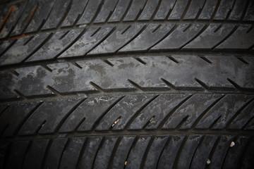 old tread tire