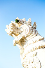 singh statue  wat ban-den , chiangmai province Thailand