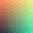 Retro pattern of geometric shapes