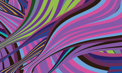 vector modern abstract background and colored lines