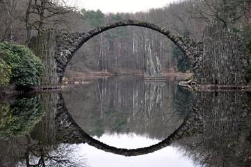 Kromlauer Park, Rakotz-Brücke