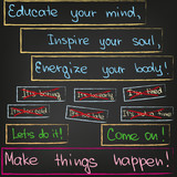 Educate your mind, inspire your soul