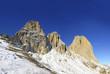 Val Gardena, massif Sasso Lungo (Langkofel), Dolomites