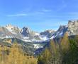 The National Park Puez, Puezgruppe, Vallunga - Langental, Italy