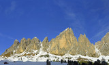 Puezgruppe, The National Park Puez from Gardena pass, Dolomites