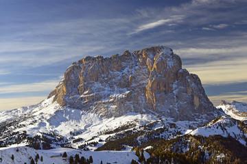 Val Gardena, massif Sasso Lungo of Gardena Pass, Dolomites