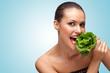 Green diet.