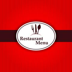 Sticker background restaurant menu