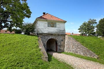 Altes Stadttor von Fredrikstad