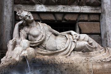 Rome, Quattro Fontane, Goddess Diana
