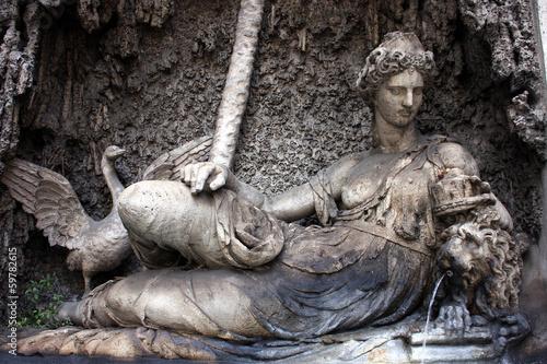 Rome, Quattro Fontane, Goddess Juno - 59782615